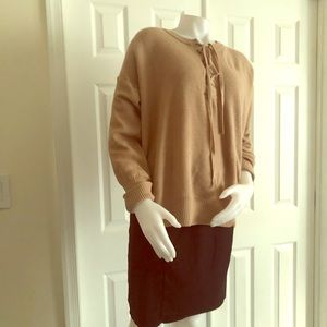 Harve Benard Beige Sweater Large